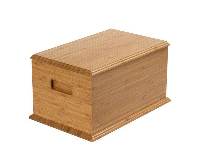 Beautiful bamboo goodwood casket ashes urn. Pet urns for horse keepsake and memorials. May be personalised.