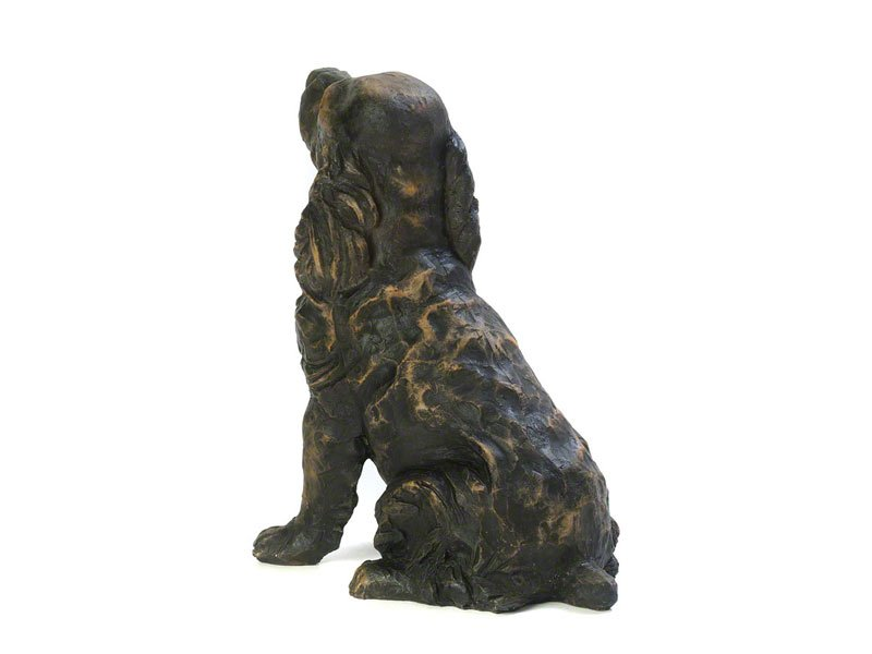 Beautiful figurine Spaniel dog urns for pet dog ashes. Cocker Springer Clumber Sussex. Can be personalised.