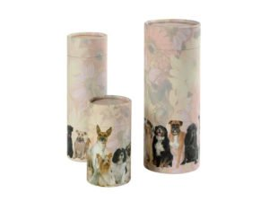 Petributes original scatter tubes for pet dog ashes. Scattering tubes for dogs.