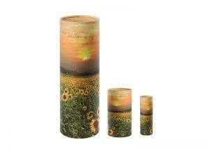 Scatter Tube Sunflower Design